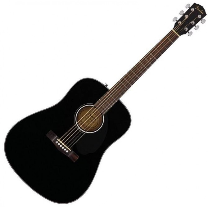 Fender CD60 S  Black